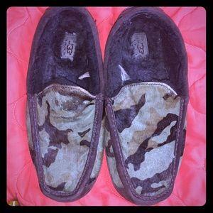 Camo ugg slippers